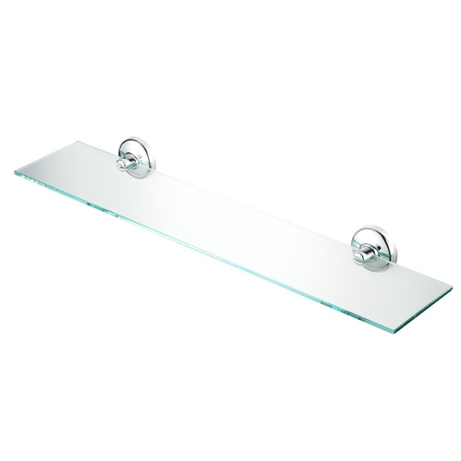Geesa Geesa Hotel Bathroom Shelf 55 Cm Chrome